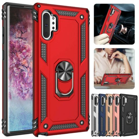 Red Magnetic Armor Case